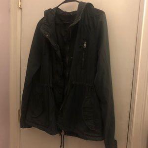 Charcoal Grey Utility Jacket